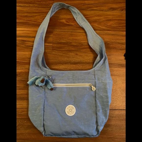 """5be2210a73e Kipling Handbags - RESERVED 🐵Kipling """"Blue Beam"""" Shoulder Bag"""